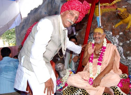 Mahashay Ji with Swami ji