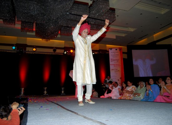 Mahashay Ji in a fashion show